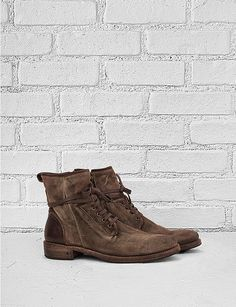 8a82faa132e1 John Varvatos Brown Leather Boots Best Mens Fashion
