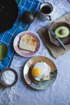 Fried Duck Egg Avocado Toast (Gluten Free)