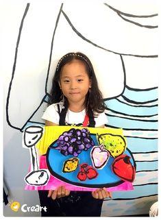 세잔처럼 - 사과가 있는 정물 [ 크라인 6·7세 수업 / 시흥시 정왕동 배곧 미술학원 - 창의미술 크리아트] : 네이버 블로그 Easy Art Projects, School Art Projects, Kids Art Class, Art For Kids, Kids Art Galleries, 3rd Grade Art, Collage Art Mixed Media, Korean Art, Digital Art Girl