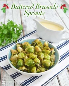 Buttered Brussels Sprouts (low-carb, keto, paleo) Ingredients (makes 4 servings):  1.1 lb Brussels sprouts (500 g / 17.6 oz) ¼ ghee, melted (make your own) or butter (55 g / 1.9 oz) juice from ½ lemon (~ 2 tbsp) ½ tsp salt (I like pink Himalayan) freshly ground black pepper to taste Halve, toss in ghee and roast @ 400F for 25-35 minutes