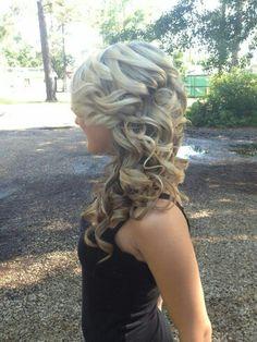 Side twist curls