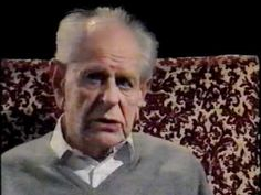 Ernst Gombrich interviews Karl Popper on the Channel 4 programme 'Uncertain Truth', 1988