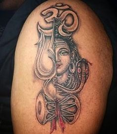 25 Indian Spiritual Om Tattoo Designs Their Meanings Cool Tats Shiva tattoo design, Om Here we have great wallpaper about body tattoo bh. Mantra Tattoo, Bholenath Tattoo, Chakra Tattoo, God Tattoos, Devil Tattoo, Tattoo Trend, Sexy Tattoos, Wild Tattoo, Tatoos