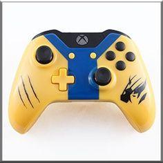 Wolverine Themed Xbox One- http://www.gamermodz.com/wolverine-themed-custom-xbox-one-controller