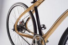 Wood bike - complete fiets