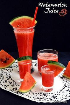 Watermelon Juice Recipe1 by Priti_S, via Flickr