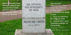 #MoreThanACarpenter #Atheism #Nietzsche #Freud #Marx #Russell