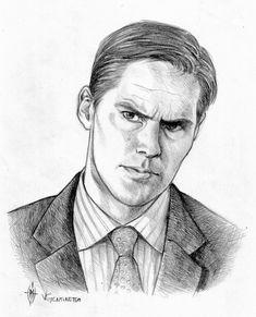 Aaron Hotchner by whiteshaix.deviantart.com