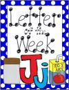 Letter of the Week: Jj product from Laniers-K-Lions on TeachersNotebook.com
