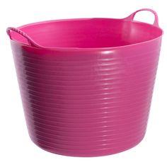 Tubtrugs 10 gal. Plastic Tubtrugs Pink - 3305-0519