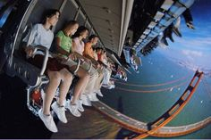 Something is wrong with you if you don't like Soarin'!