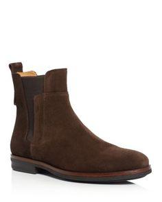 VINCE Harvey Suede Chelsea Boots. #vince #shoes #boots