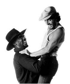 Bruce+Springsteen+and+Clarence+Clemons | most important images of Bruce Springsteen and Clarence Clemons ...