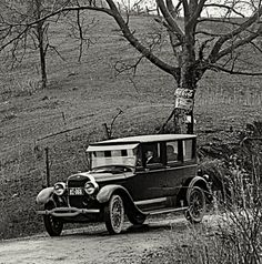 Considered to be one of the most elegant of chauffer-driven automobiles of the 1920's, the Lincoln Model L Towncar was introduced in 1924.