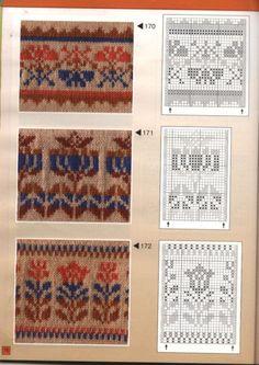 View album on Yandex. Punto Fair Isle, Tejido Fair Isle, Motif Fair Isle, Fair Isle Chart, Fair Isle Pattern, Tapestry Crochet Patterns, Fair Isle Knitting Patterns, Knitting Charts, Knitting Designs