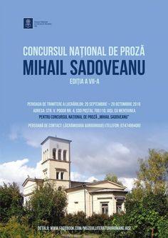 """Start la înscrierile pentru Concursul Național de Proză """"Mihail Sadoveanu"""". Pandora"""