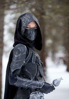 Faith and Fun: Cosplay in hijab. Skyrim - Nightingale