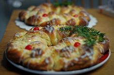 Danish Pastry Wreath-13