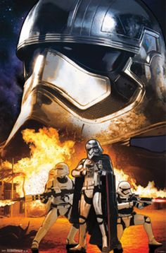 Star Wars The Force Awakens (troopers) Poster