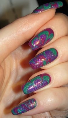 Green, Glaze & Glasses: Me & Water Marble - essence colour & go