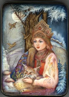 Snowmaiden Artist: Bobkova Zoya: