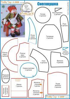 icu ~ Pin on RĘKODZIEŁO ~ This Pin was discovered by Agnieszka s. Christmas Makes, Felt Christmas, Diy Christmas Ornaments, Handmade Christmas, Snowman Crafts, Xmas Crafts, Christmas Projects, Felt Crafts, Diy Projects Handmade