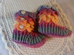 Your place to buy and sell all things handmade Hand Crochet, Crochet Baby, Baby Bootees, Rainbow Crochet, Crocodile Stitch, Crochet Shoes, Yarn Colors, Handmade Crafts, Baby Shower Gifts