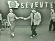 """ICYMI Monday: Check out these teens doing """"The Stroll"""" on local TV in 1958."""