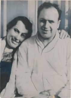 Al Capone and his mother