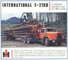 Cool Trucks, Big Trucks, International Harvester Truck, Heavy Duty Trucks, Old Tractors, Classic Trucks, Semi Trucks, Tandem, Retro