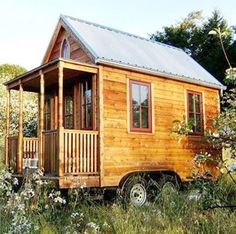 Prefab Mobile Home - could be cute as an extra office.