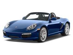 Porsche boxter in blue