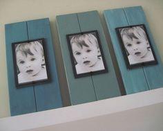 Set of Three Plank Frames