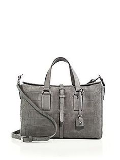 Mulberry - Roxette Small Crocodile-Embossed Satchel b963358f68aa7
