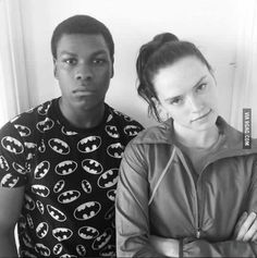 King and Queen of Everything. John Boyega & Daisy Ridley Fanart from Star Wars Episode VII The Force Awakens Film Star Wars, Star Wars Cast, Reylo, John Boyega Daisy Ridley, Starwars, Nerd, Episode Vii, The Force Is Strong, Chef D Oeuvre