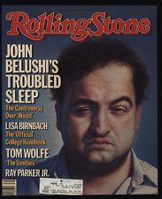 Vintage Rolling Stone Magazine Covers | 1984 JOHN BELUSHI - Vintage ROLLING STONE Magazine COVER ONLY