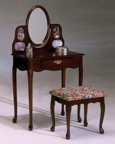 Vanity Set with Mirror