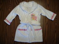 New Handmade My Little Pony Fluttershy White Bathrobe size 6 #Handmade #Robe