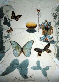 Il mio mondo di farfalle;)  by Dalì
