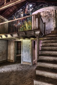 Balcony Pirates | Abandoned bar