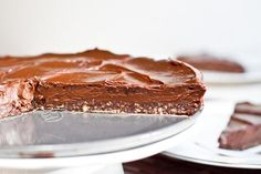 no-bake (and no dairy) double chocolate torte