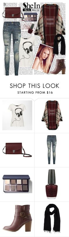 """Streetstyle"" by cassy-style ❤ liked on Polyvore featuring Hallhuber, The Cambridge Satchel Company, Polo Ralph Lauren, Bobbi Brown Cosmetics, OPI, Charlotte Russe and Blue Les Copains"