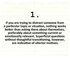 A Guide to Distraction