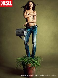Love Diesel jeans  #Jeans #Advertising #DieselJeans