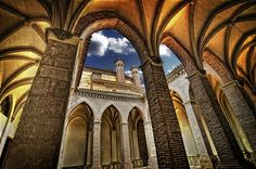 Top Three Daytrips from Madrid - pictured is the Cathedrals of Segovia. Stunning