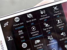 Samsung Galaxy S5 camera tip: Turn off picture stabilization unless you really need it