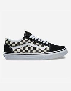 Het beste Dames Vans Comfycush Checker Old Skool schoenen