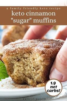 Low Carb Sweets, Low Carb Desserts, Low Carb Recipes, Diabetic Desserts Sugar Free Low Carb, Protein Recipes, Protein Foods, High Protein, Vegan Recipes, Low Carb Bread