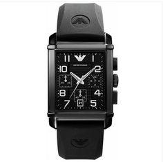 Emporio Armani AR0335 Mens Classic Chronograph Black Watch UK on sale   155GBP armaniemporiowatches.co.uk