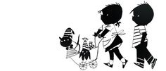 janneke met poppenwagen